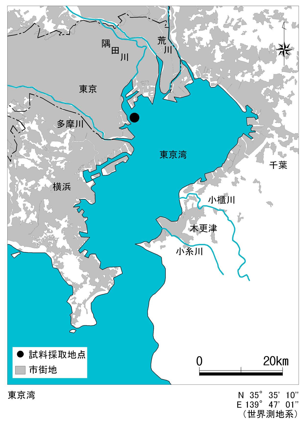 「東京湾 地図」の画像検索結果
