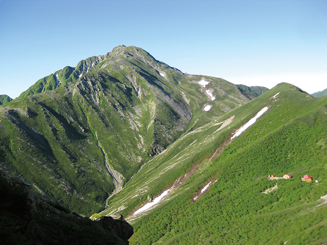 photo of Mt. Akaishi