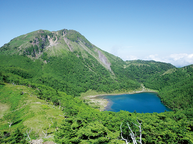 photo of Mt. Nikko-Shirane