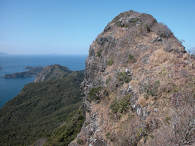 photo of Mt. Shijiki