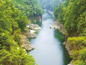 photo of Dorokyo Gorge